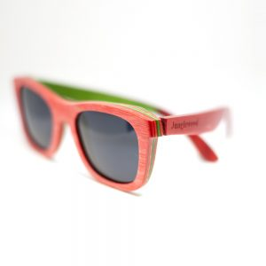 green and red sunglasses by Junglewood