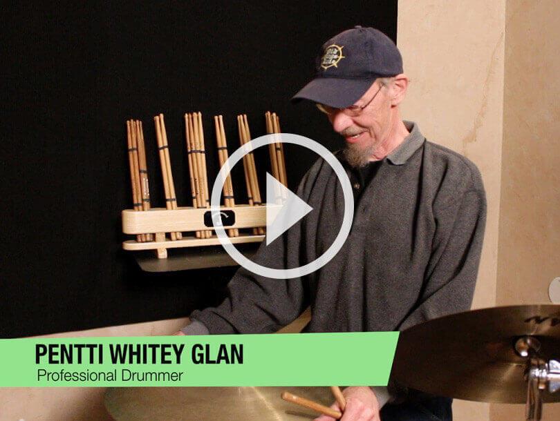 pennti whitey glan proffesional drummer